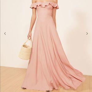 Reformation dress, blush, size 4
